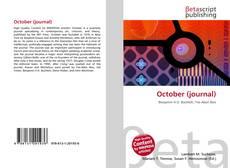 Buchcover von October (journal)
