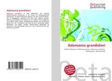 Couverture de Adansonia grandidieri