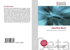 Sacrifice Bunt kitap kapağı