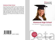 Обложка Wakeland High School