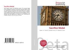 Sacrifice Medal kitap kapağı