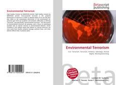 Bookcover of Environmental Terrorism