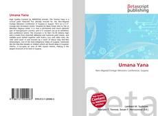 Buchcover von Umana Yana