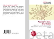Couverture de Adansonia sect. Brevitubae