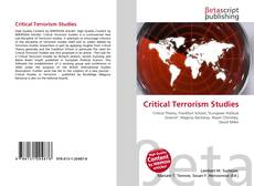 Bookcover of Critical Terrorism Studies