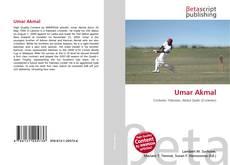 Umar Akmal kitap kapağı