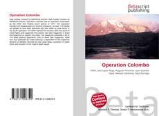 Capa do livro de Operation Colombo