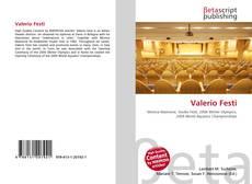 Valerio Festi kitap kapağı