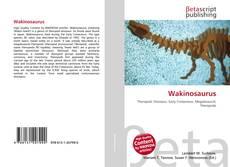 Capa do livro de Wakinosaurus