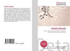 Bookcover of Valerio Ricetti