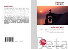 Valerio Valeri kitap kapağı