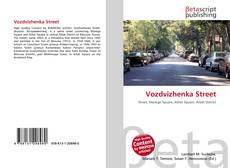 Обложка Vozdvizhenka Street