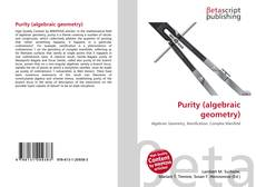 Bookcover of Purity (algebraic geometry)