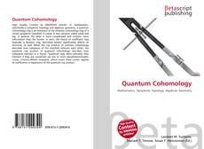 Bookcover of Quantum Cohomology