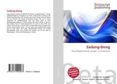 Bookcover of Sadang-Dong