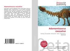 Couverture de Adamantisaurus mezzalirai