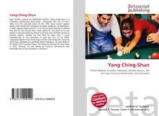 Yang Ching-Shun kitap kapağı