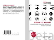 Bookcover of Adaptation (Akustik)