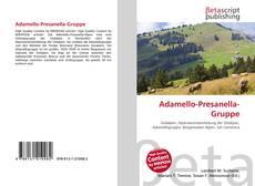 Обложка Adamello-Presanella-Gruppe