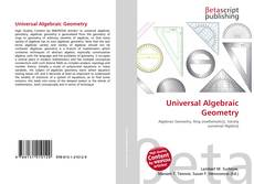 Bookcover of Universal Algebraic Geometry