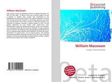 Couverture de William Macewen
