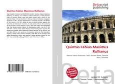 Обложка Quintus Fabius Maximus Rullianus