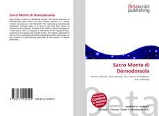 Bookcover of Sacro Monte di Domodossola