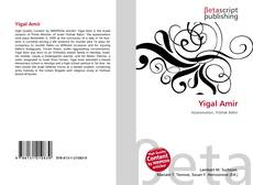 Bookcover of Yigal Amir