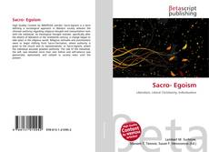 Bookcover of Sacro- Egoism