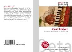 Umar Dimayev kitap kapağı