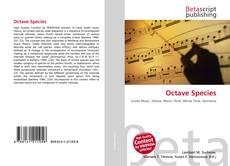 Buchcover von Octave Species