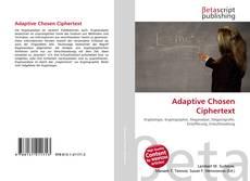 Couverture de Adaptive Chosen Ciphertext