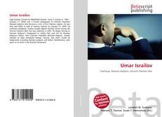 Umar Israilov kitap kapağı