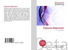 Bookcover of Stepwise Regression