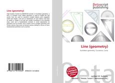 Bookcover of Line (geometry)