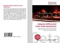 Buchcover von Adaptive Differential Pulse Code Modulation