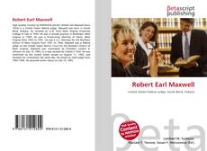 Buchcover von Robert Earl Maxwell