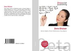Bookcover of Zero Divisor