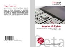 Buchcover von Adaptive Multi-Rate