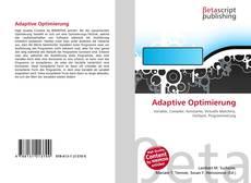 Copertina di Adaptive Optimierung