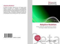 Adaptive Reaktion的封面