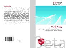 Bookcover of Yang Jiang