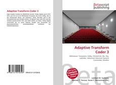 Capa do livro de Adaptive Transform Coder 3