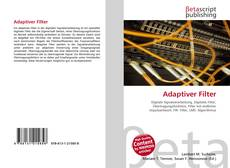 Bookcover of Adaptiver Filter