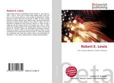 Bookcover of Robert E. Lewis