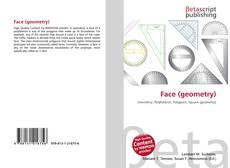 Bookcover of Face (geometry)