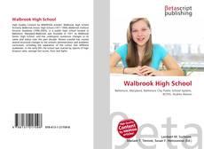 Capa do livro de Walbrook High School