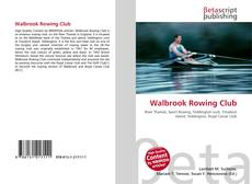 Capa do livro de Walbrook Rowing Club