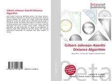 Bookcover of Gilbert–Johnson–Keerthi Distance Algorithm