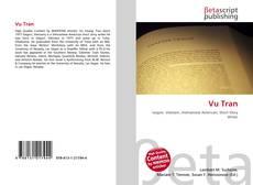 Portada del libro de Vu Tran